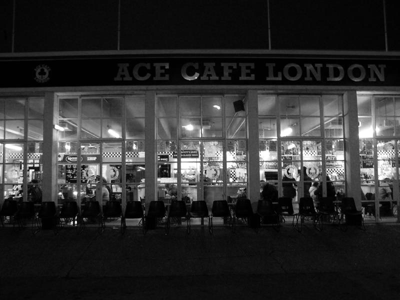 ace cafe facade