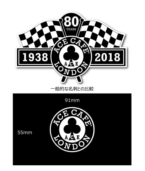 80th Decal Size