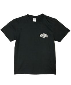 80th Anniv. Tee Blk front