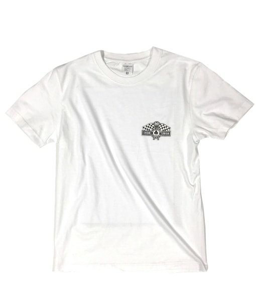 80th Anniv. Tee Wht front