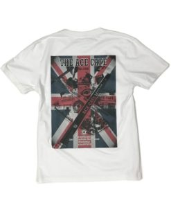 80th Anniv. Tee Wht back