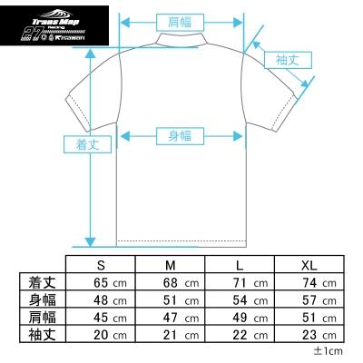 8耐応援T サイズチャート