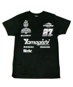 8耐応援Tシャツ ブラック フロント
