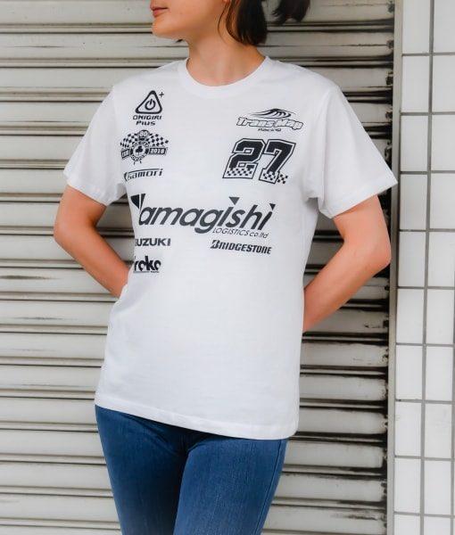 8耐応援Tシャツ ホワイト 着用イメージA