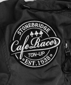 SS2001HJ BK Cafe Racer patch