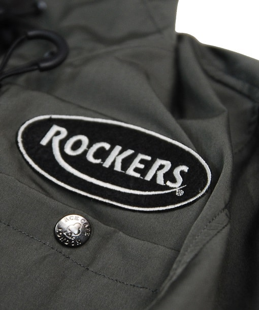 SS2001HJ GY Rockers patch