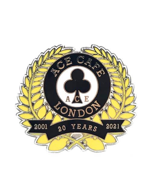 20th Anv. Badge Front