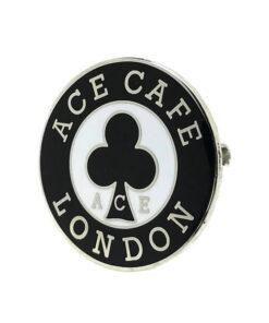 Ace Cafe London Logo Badge angle shot