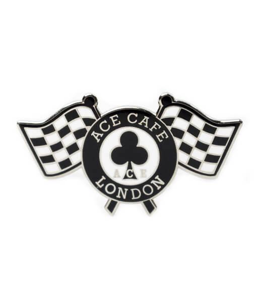 Checker Flag Badge front