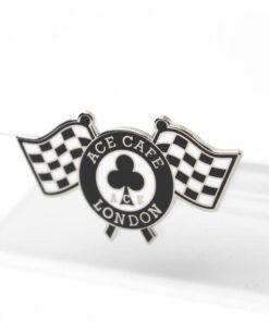 Checker Flag Badge angle shot