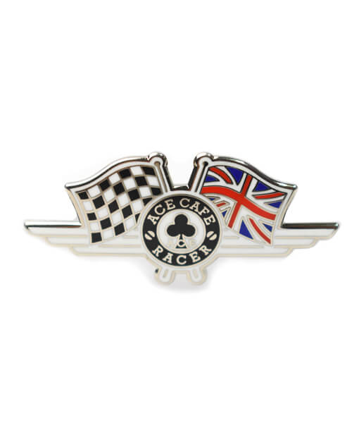 UK Flag Badge front