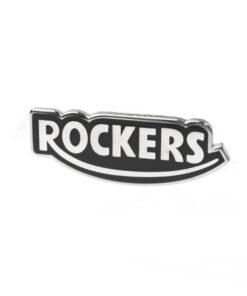 Rockers Badge angle shot